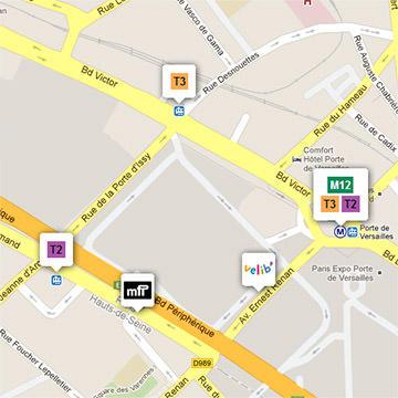 Voir la localisation des locaux de france.tv studio sur Google Maps
